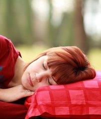 snurkende vrouw
