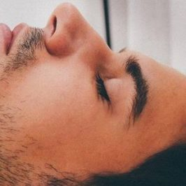 slapende man