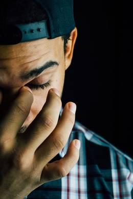 man stress