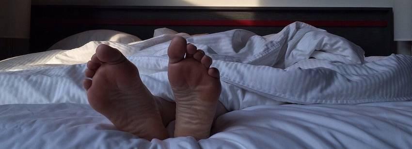voeten bed