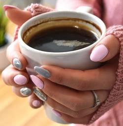 Een beker koffie
