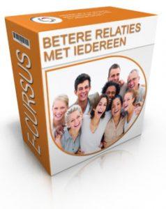 De cover van de online cursus betere relaties met iedereen