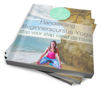 Cover van het yoga stap voor stap e-book